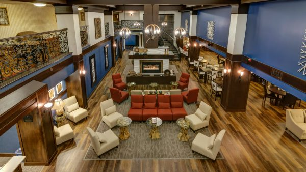 Lobby area of the Four Points by Sheraton Bellingham Hotel & Conference Center