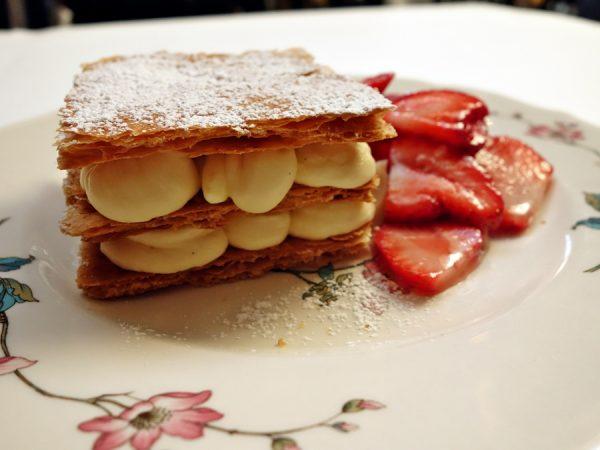 Bonus: Bavarian cream napoleon.