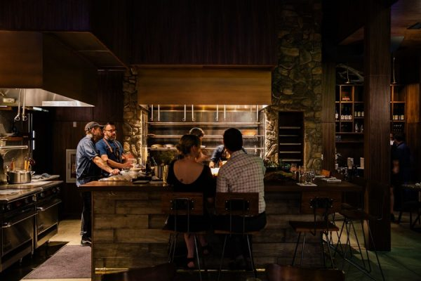 Seating at the hearth. Photo courtesy of Vestal.