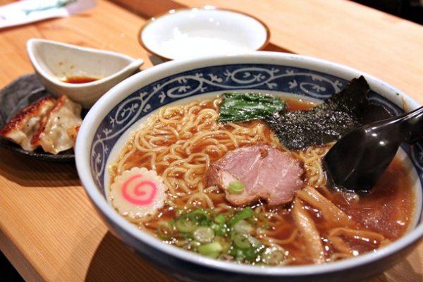 Shoyu ramen at Tsukushinbo
