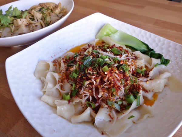 Biang-biang noodles at Xi'an Noodles