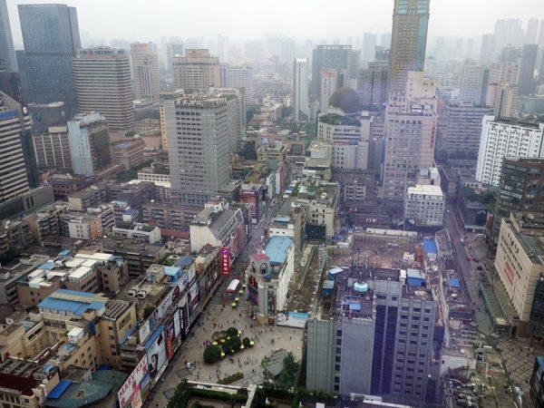 Chengdu, from my hotel room