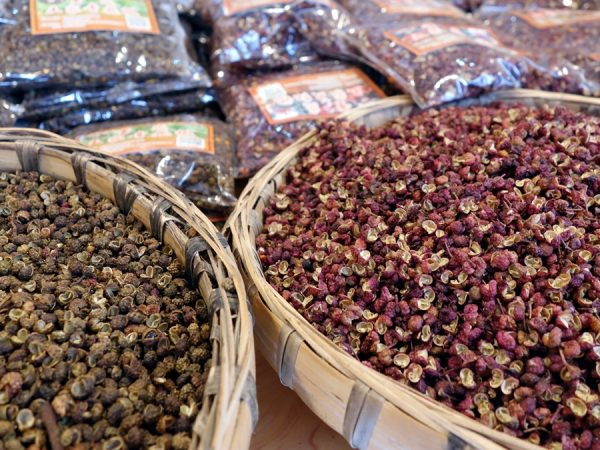 The ubiquitous Sichuan peppercorns