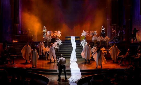 """When Doves Cry"" scene in ""Baz – Star Crossed Love"" (photo courtesy of The Palazzo Las Vegas)"