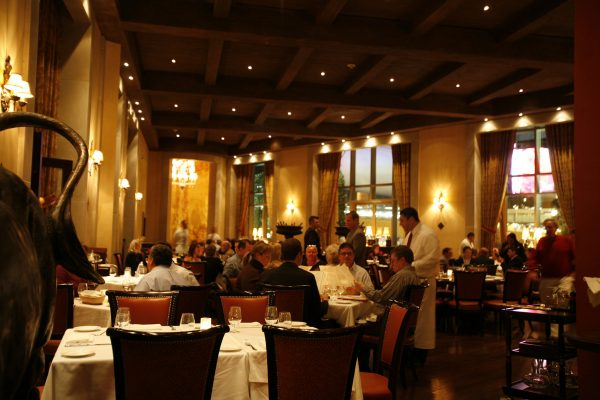 The dining room (photo courtesy of Carnevino)