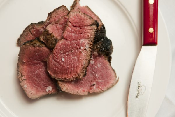 Superb steak (photo courtesy of Carnevino)