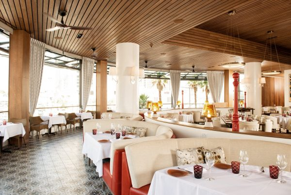 The dining room at GIADA (photo courtesy of The Cromwell)