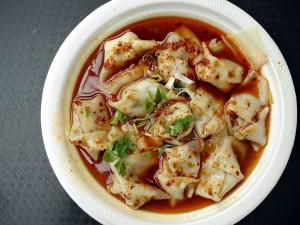 Xian cuisine spicy wontons 0293