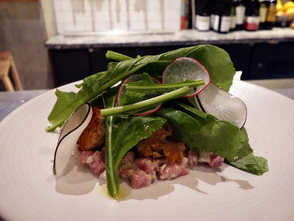 Agrius' beef tartare