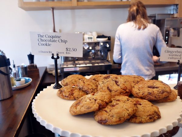 The chocolate chip cookies at Coquine