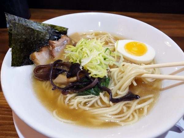 Shoyu ramen at Marukin