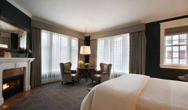 Sentinel guestroom (photo courtesy of Provenance Hotels)