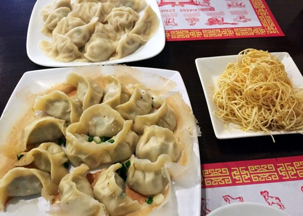 An assortment at Little Ting's Dumplings